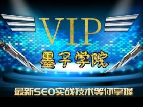 墨子学院SEO培训视频教程 seovip教程价值9000元