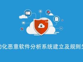 自动化恶意软件分析系统建立及入侵检测系统规则生成视频教程