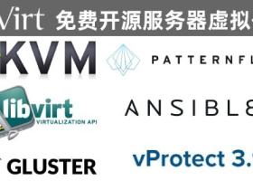 oVirt4.3免费开源服务器虚拟化视频教程(包含vProtect、超融合部署)
