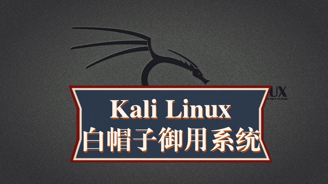 Kali Linux渗透测试与网络攻防及白帽子黑客编程全程课 网络安全工程师教你学!