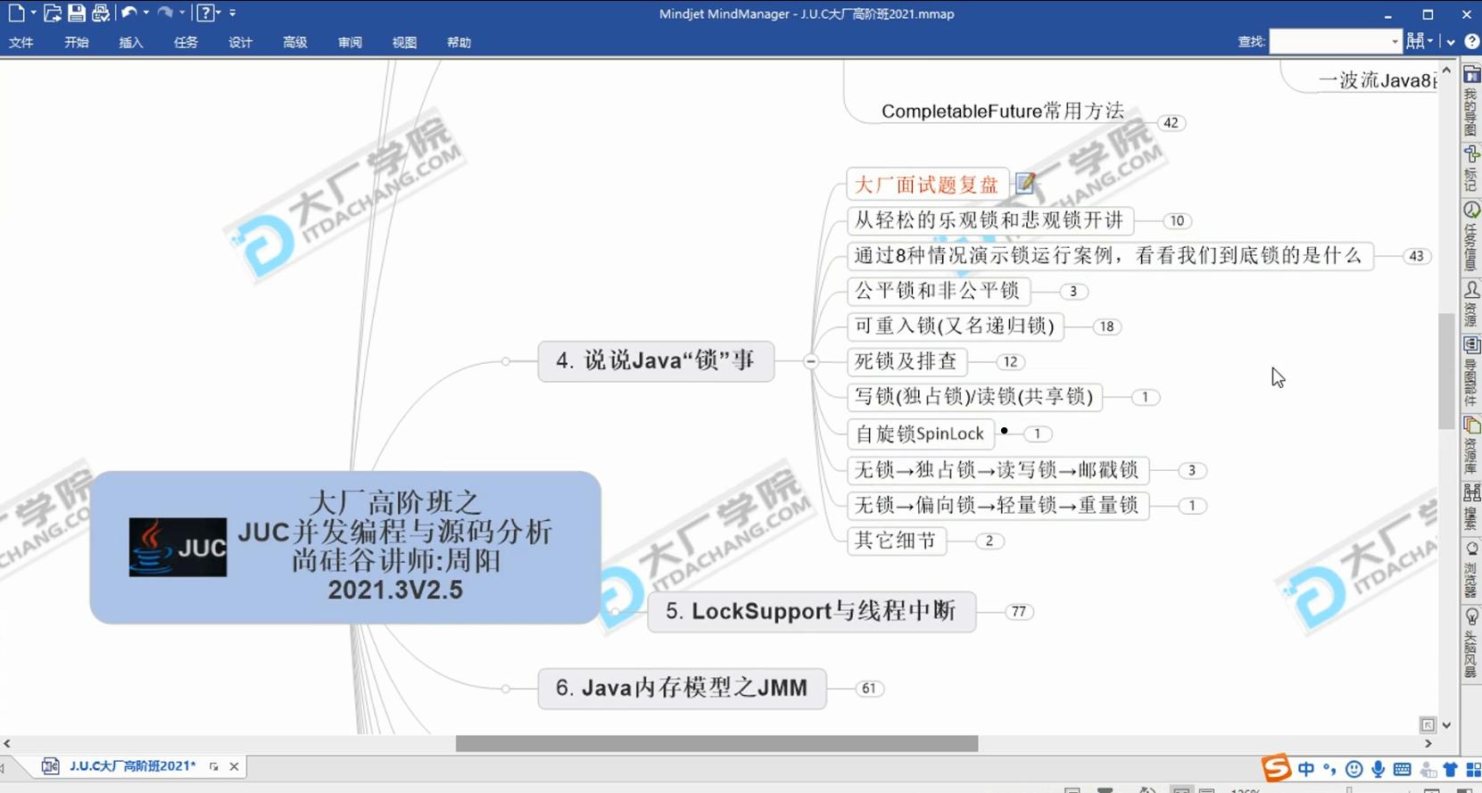 JUC并发编程与源码分析课程(草根课堂无密分享)